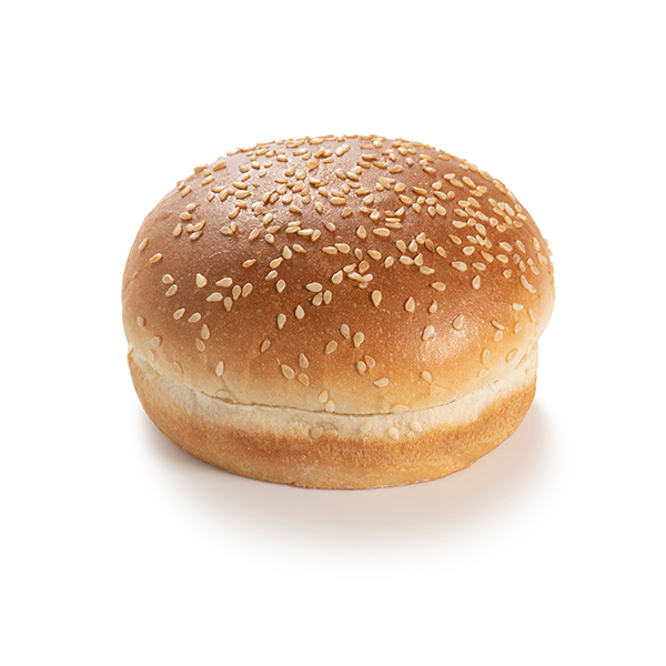 A bun with sesame seeds