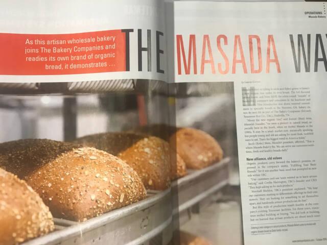 A magazine featuring Masada