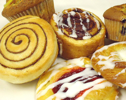 Sweet Pastries, Cinnamon Rolls